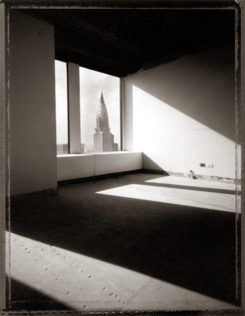 Chrysler Through Window Baril, Tom  (American, b.1952)
