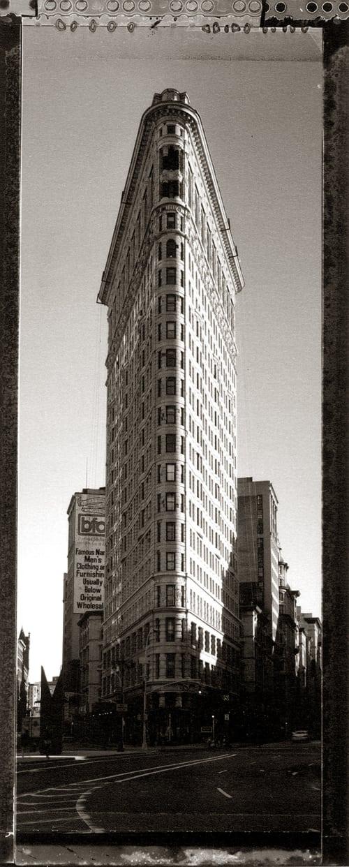 Flat Iron Building Baril, Tom  (American, b.1952)