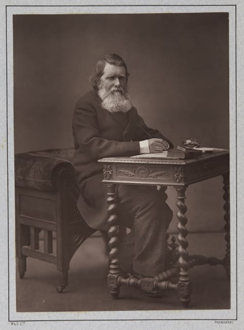 John Rushkin Barraud, Herbert Rose  (British, 1845-1896)