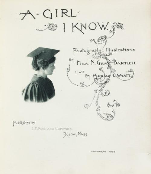 Plate 1 Bartlett, N. Gray  (American, 1885-1951)