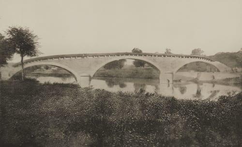 Pl. 23 Pont de Dampmart sur la Marne, État des travaux mois de Mai 1865