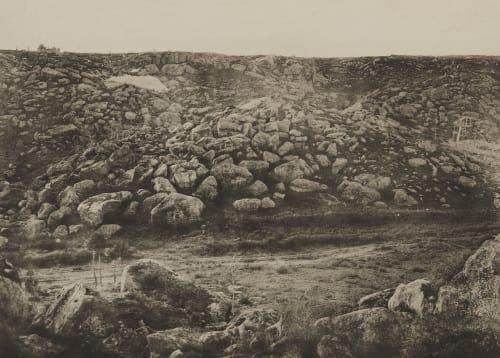 Pl. 40 Traversée des Sables de Fonteainebleau, 16 Decembre 1869 Collard, Augustin-Hippolyte  (French, 1812-1893)