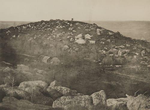 Pl. 41 16 Traversée des Sables de Fonteainebleau, Decembre 1869 Collard, Augustin-Hippolyte  (French, 1812-1893)