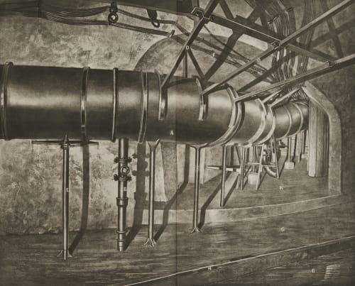 Planche 13 Jonction de la galerie du pont au Change avec la galerie de Sébastopol