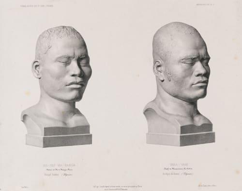 Ma-pou-ma-hanga, Vara-Vahi Bisson, Louis-Auguste  (French, 1814-1876)