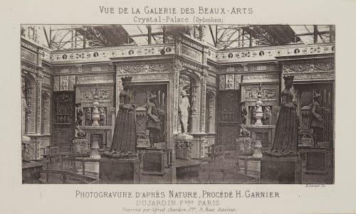 Vue de la Galerie des Beaux-Arts Unknown