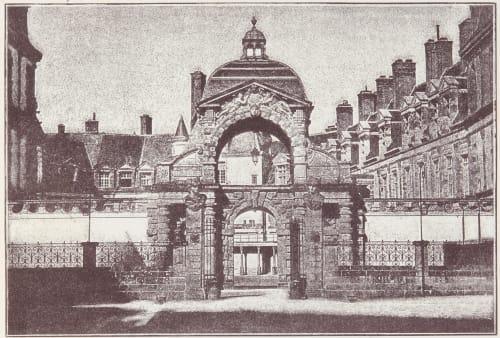 Vue du Baptistére Louis XIII Unknown