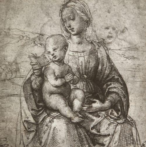 La Vierge et l'Enfant Raphael   (Italian, 1483-1520)