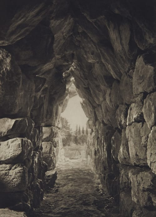 Vaulted Chamber at Tiryns Boissonnas, Fred  (Swiss, 1858-1946)