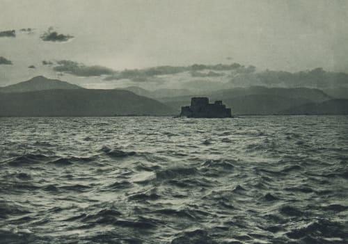 The Islet of Bouzi off Nauplia Boissonnas, Fred  (Swiss, 1858-1946)
