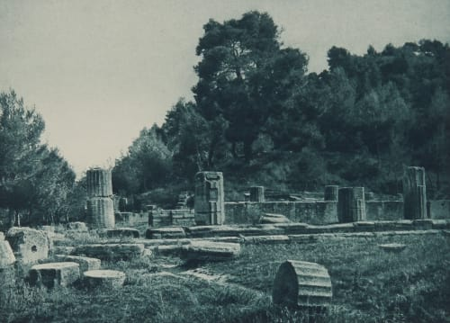 The Temple of Hera at Olympia Boissonnas, Fred  (Swiss, 1858-1946)