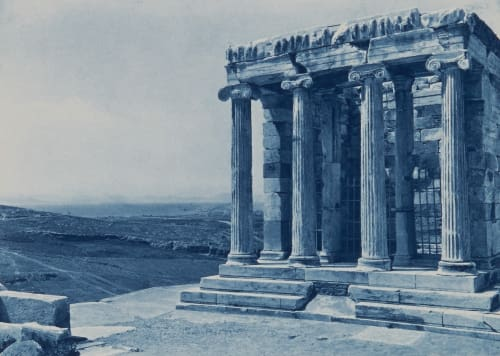 The Temple of Athene Nike Boissonnas, Fred  (Swiss, 1858-1946)