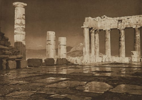 The Parthenon After a Storm Boissonnas, Fred  (Swiss, 1858-1946)
