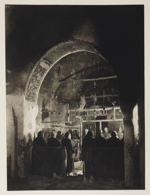 Entree D'un Tombean dans la Vallee des Rois Boissonnas, Fred  (Swiss, 1858-1946)