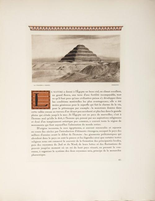 Les Colasses D'abou Simbel au Claire de Lune Boissonnas, Fred  (Swiss, 1858-1946)