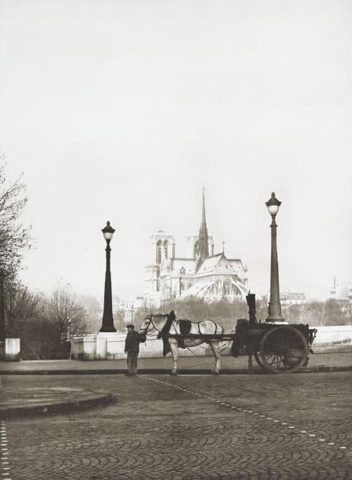 La Goudronneuse, Pont des Tournelles, Paris René-Jacques  (French, 1908-2003)