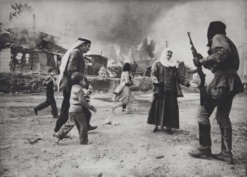 Massacre de la quarantaine, Beyrouth Demulder, Françoise  (French, 1947-2008)