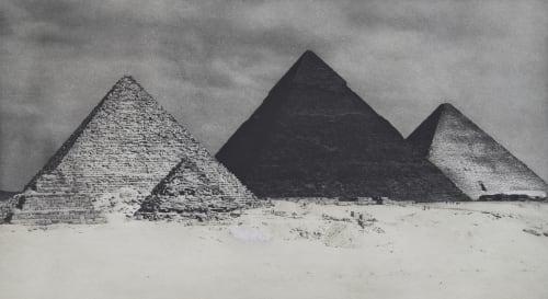 Les Pyramides Noires Brochet, Pierre  (French, 1922-2016)