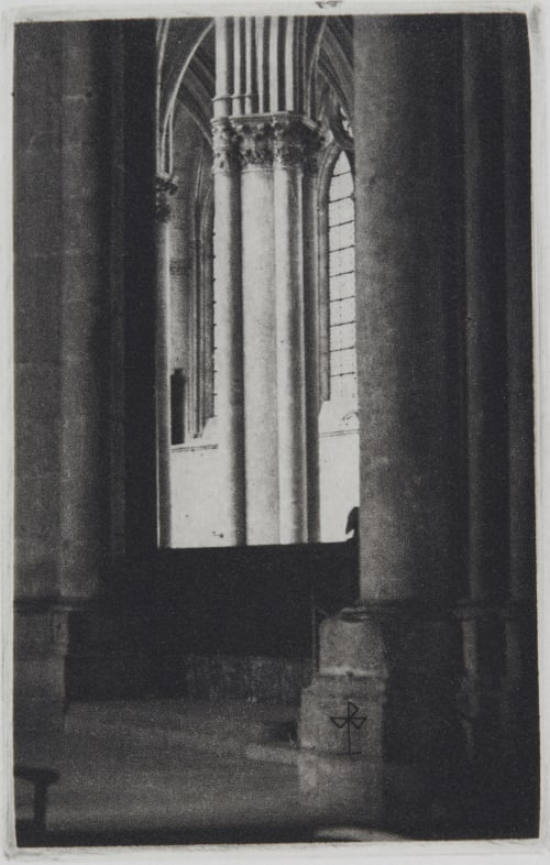 Cathedrale de Bourges Brochet, Pierre  (French, 1922-2016)