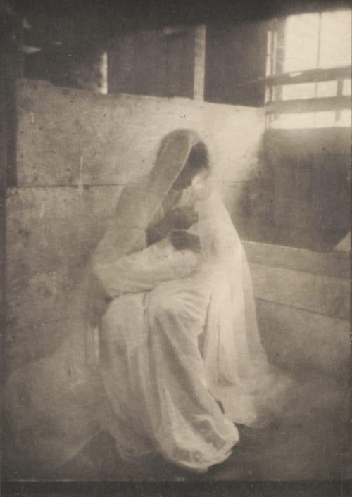 The Manger Kasebier, Gertrude  (American, 1852-1934)