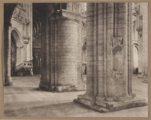 Ely Cathedral: Across Nave and Octagon Evans, Fredrick  (British, 1853-1943)