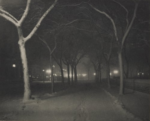 Icy Night Stieglitz, Alfred  (American, 1864-1946)