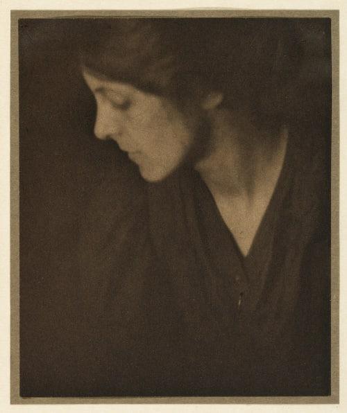 A Portrait Study Coburn, Alvin Langdon  (American, 1882-1966)