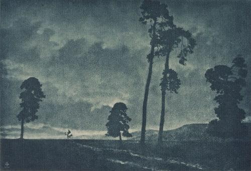 The Solitary Horseman Hofmeister, Theodor   (German, 1868-1943)Hofmeister, Oscar  (German, 1871-1957)