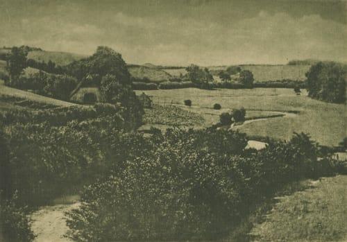 Meadow-brook Hofmeister, Theodor   (German, 1868-1943)Hofmeister, Oscar  (German, 1871-1957)