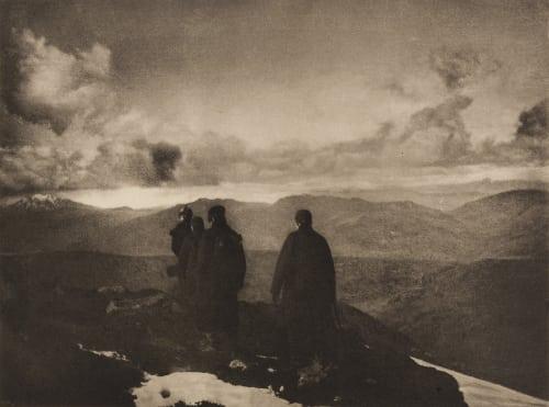 The Dark Mountains Annan, James Craig  (Scottish, 1864-1946)
