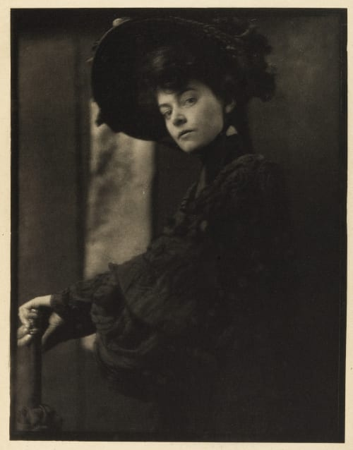 Portrait – Miss Minnie Ashley Kasebier, Gertrude  (American, 1852-1934)