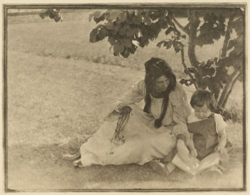 The Picture-book Kasebier, Gertrude  (American, 1852-1934)