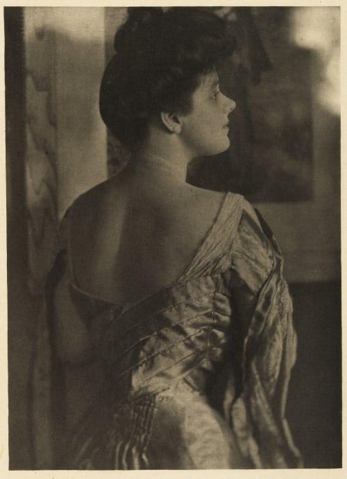 Portrait – Mrs. Philip Lydig Kasebier, Gertrude  (American, 1852-1934)