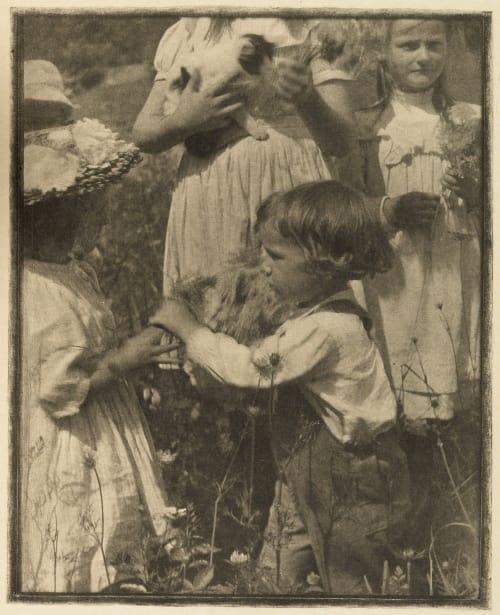 Happy Days Kasebier, Gertrude  (American, 1852-1934)