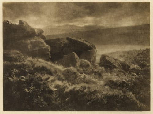 Rain from the Hills Hinton, Alfred Horsley  (British, 1863-1908)