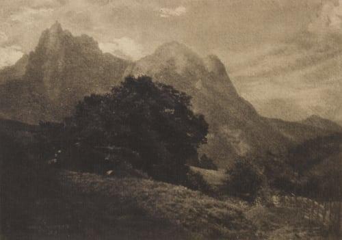 Mountain Landscape Watzek, Hans  (Austrian, 1848-1903)