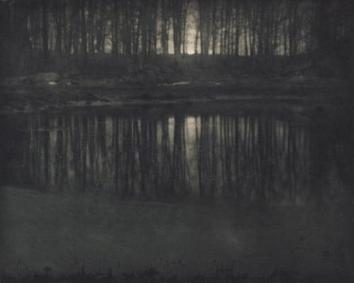 Moonlight: The Pond Steichen, Edward  (American, 1879-1973)