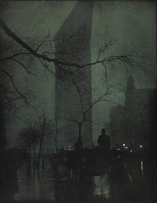 The Flatiron-evening Steichen, Edward  (American, 1879-1973)