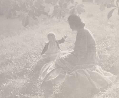 Mother and Child – Sunlight Steichen, Edward  (American, 1879-1973)