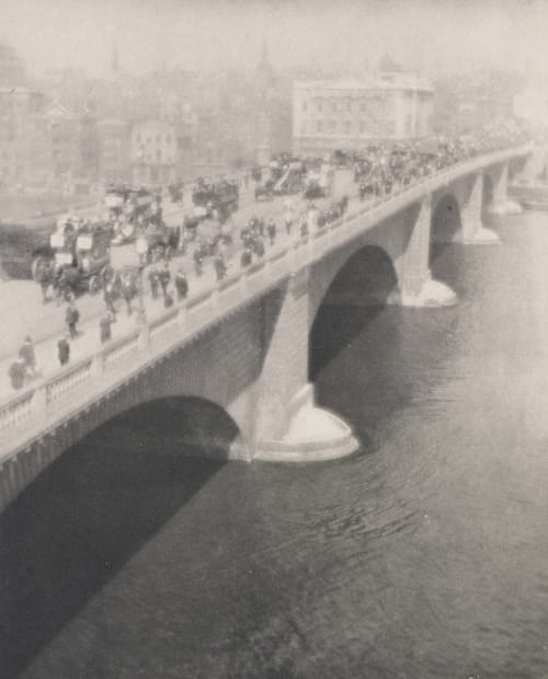The Bridge-Sunlight Coburn, Alvin Langdon  (American, 1882-1966)