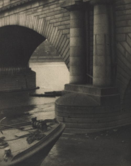 The Bridge-London Coburn, Alvin Langdon  (American, 1882-1966)