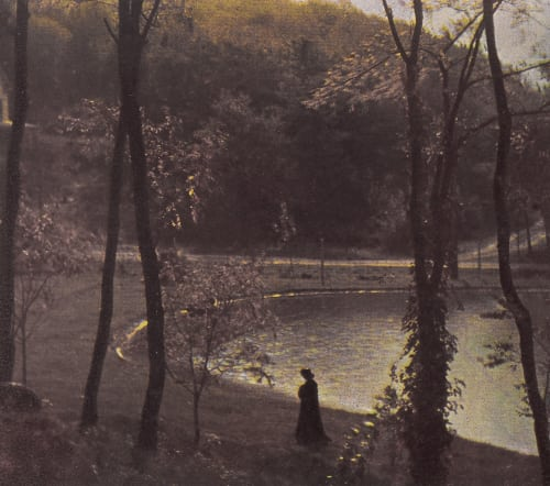 Experiment in Three-color Photography Steichen, Edward  (American, 1879-1973)