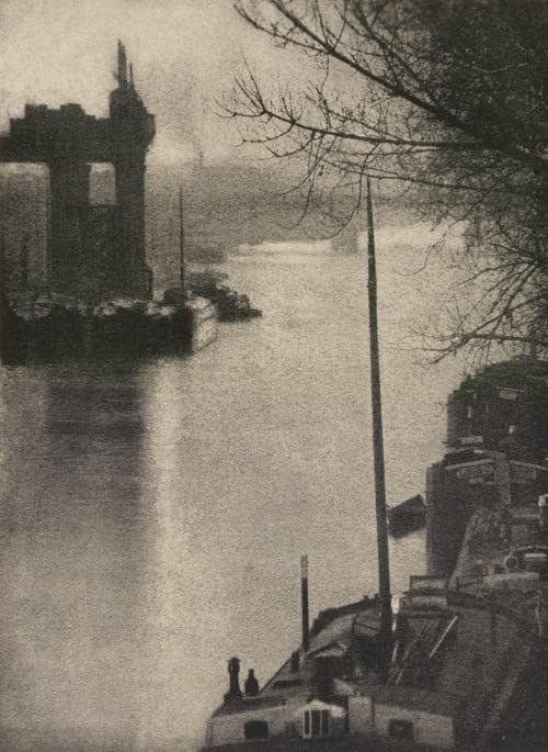 The Seine at Clichy Demachy, Robert  (French, 1859-1936)