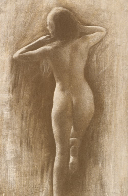 Study Le Begue, Rene  (French, 1857-1914)