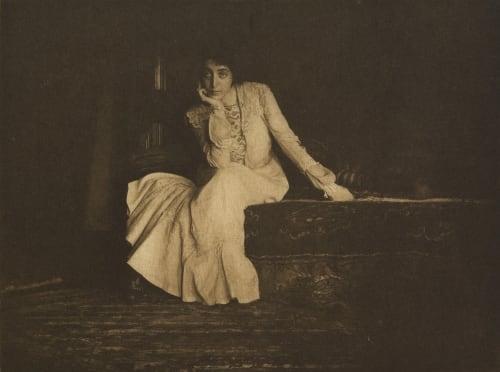Portrait Miss De C. Keiley, Joseph  (American, 1869-1914)