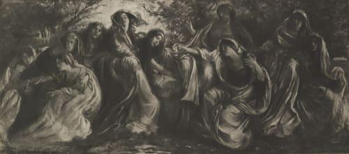 The Banks of the Lathe Herzog, F. Benedict  (American, 1859-1912)