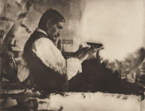 The Etching Printer – William Strang, Esq., A. R. A. Annan, James Craig  (Scottish, 1864-1946)