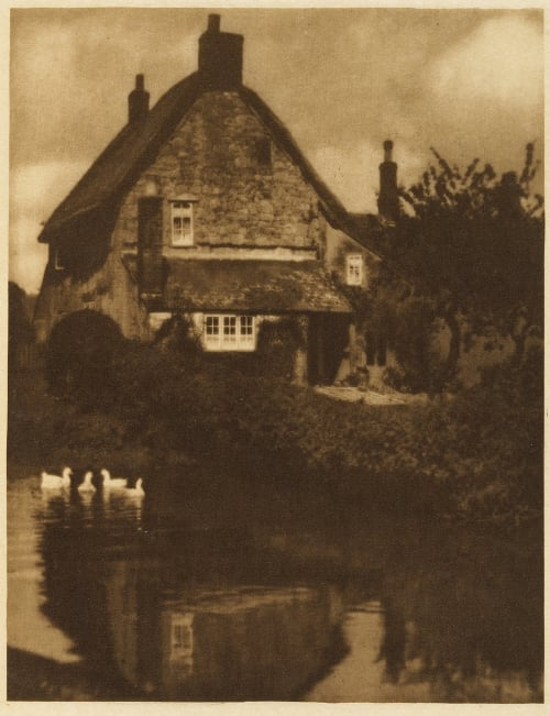 The Duck Pond Coburn, Alvin Langdon  (American, 1882-1966)