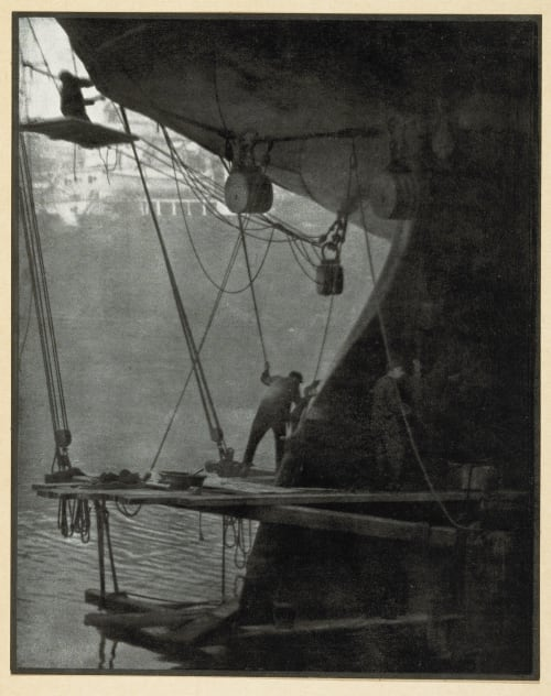 The Rudder Coburn, Alvin Langdon  (American, 1882-1966)