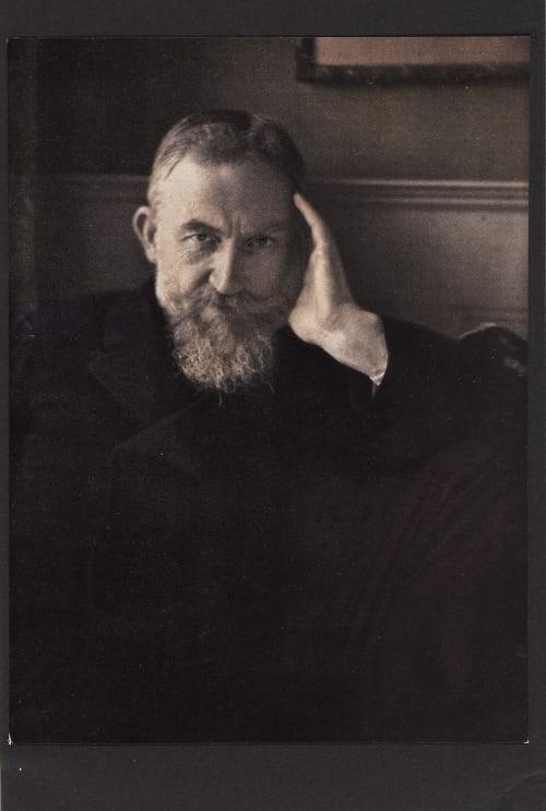 G. Bernard Shaw Steichen, Edward  (American, 1879-1973)